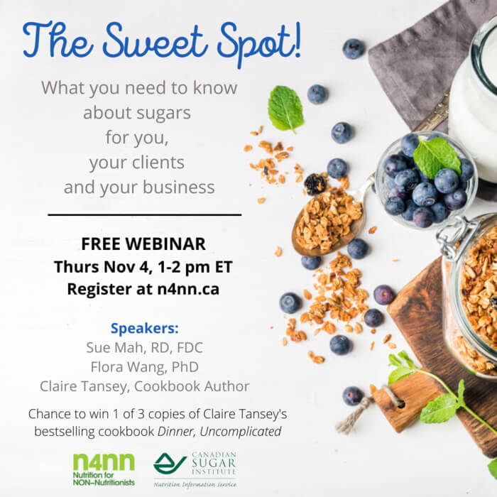 Nutrition for Non-Nutritionists Free Webinar