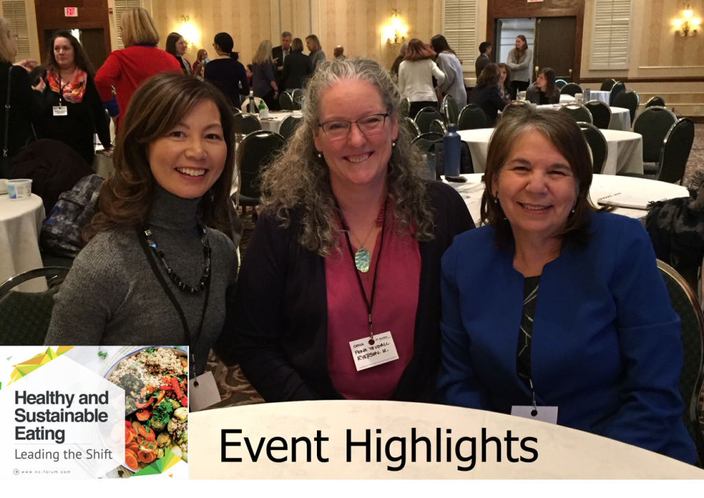 Sue Mah with Dr. Fiona Yeudall and Dr. Cecilia Rocha