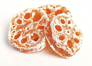 dried candied lotus root