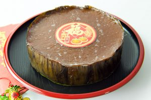 Nian Gao or Chinese glutinous rice cake